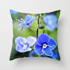 it is spring Throw Pillow