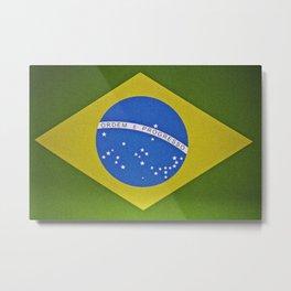 Patria Amada, Brasil (Brazil) Metal Print
