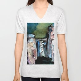 Stonehenge Unisex V-Neck