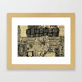 cob web Framed Art Print
