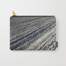 Tractor plowed field and arable land Carry-All Pouch