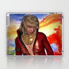 Grunge Girl Laptop & iPad Skin