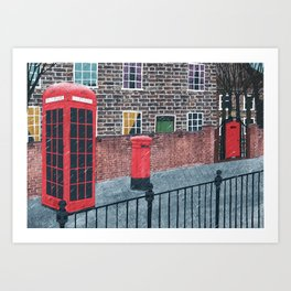 London. Art Print