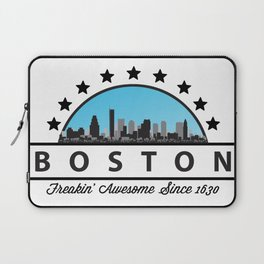 Boston Freaking Awesome Since 1630 Laptop Sleeve