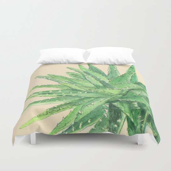 Aloe Duvet Cover
