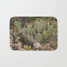 Budding Cactus Bath Mat
