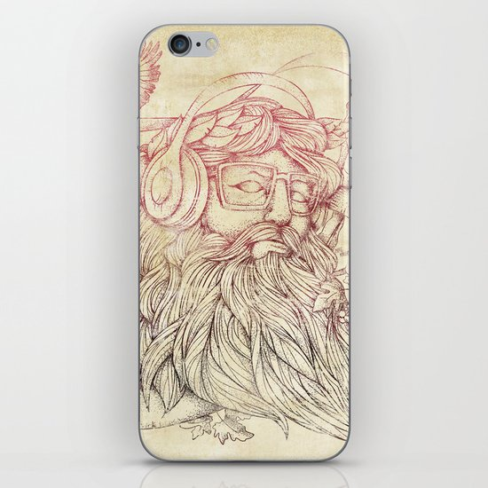 Listen to your soul iPhone & iPod Skin