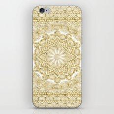 Orient Espresso Pattern Mandala Gold iPhone & iPod Skin