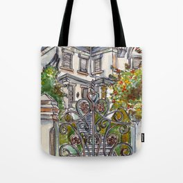 House on Vasco Da Gama Tote Bag