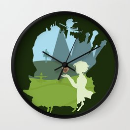 Howl's moving castle Wall Clock
