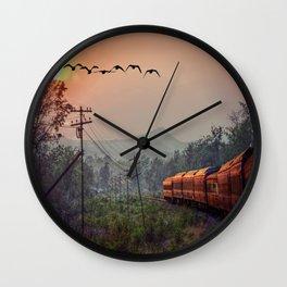 Traveling Wall Clock