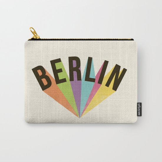Letters : Berlin Carry-All Pouch