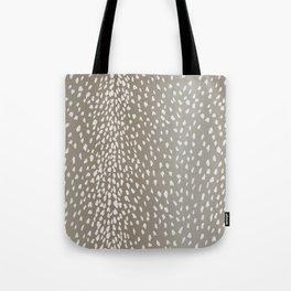 Antelope Fawn Print Tote Bag