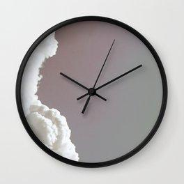 CLOUDS REGENERATED v2 Wall Clock