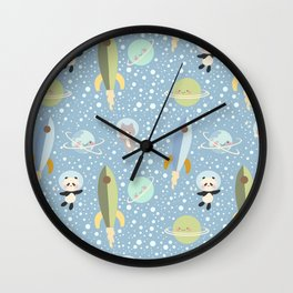 Space Adventure 4 Wall Clock