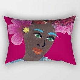Antonia red Rectangular Pillow