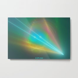 Point Of Re-Entry Metal Print