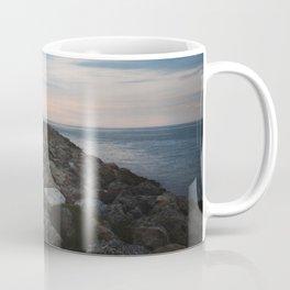 The Jetty at Sunset - Landscape Coffee Mug