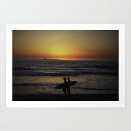 Surfer Paradise Art Print
