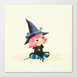 Summer Witch Canvas Print