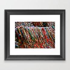 Gum Alley Framed Art Print