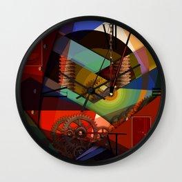Like as Jule Verne - Humans future clock Wall Clock