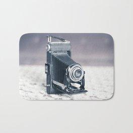 Vintage Camera Kodak Bath Mat