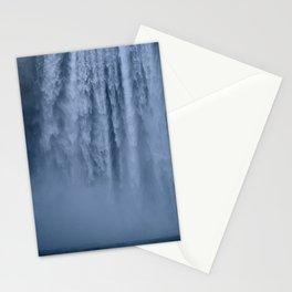 Winter at Skógafoss Stationery Cards