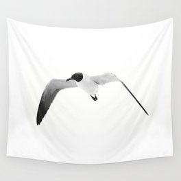 Black Headed Gull By Saribelle Rodriguez Wall Tapestry