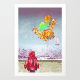 The Seashore Art Print