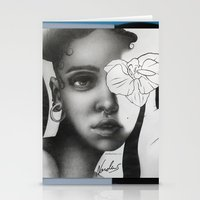 fka twigs Stationery Cards featuring FKA TWIGS by nordacious