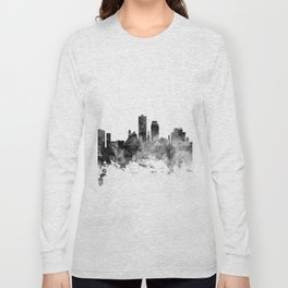 Knoxville Tennessee Skyline Long Sleeve T-shirt