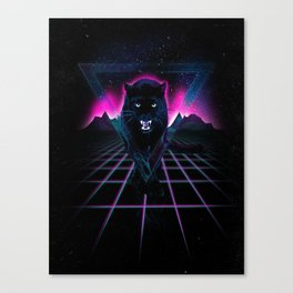 Jaguar Poster Canvas Print