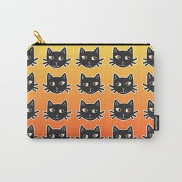 Black Cats Halloween Pattern Carry-All Pouch