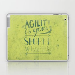 Agility is your secret weapon Laptop & iPad Skin