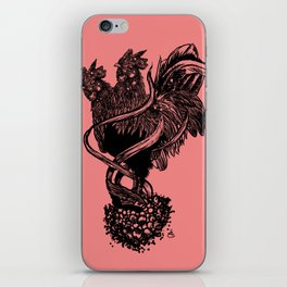 """""""YEAR OF THE ROOSTER"""" iPhone Skin"""