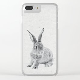Rabbit 25 Clear iPhone Case