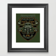 Express Elevator Framed Art Print