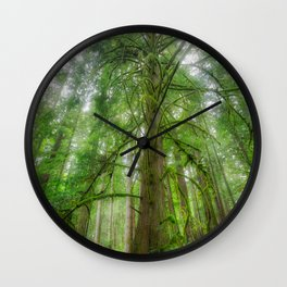 Ethereal Tree Wall Clock