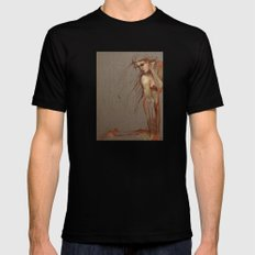 The Lost MEDIUM Mens Fitted Tee Black
