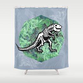 T. Rex Fossil Shower Curtain