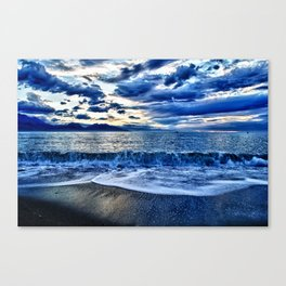 Sunrise over the South Pacific Canvas Print