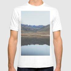 Snæfellsnesvegur, Iceland II White MEDIUM Mens Fitted Tee