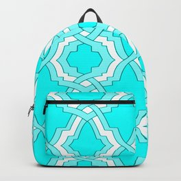 Grille No. 1 -- Cyan Backpack