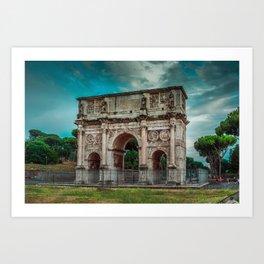 Arch of Constantine - Rome Art Print