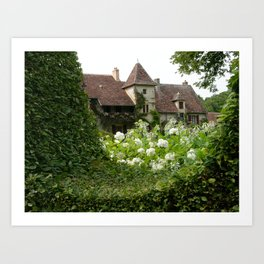 Countryside Cottage Art Print