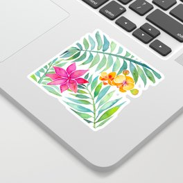Tropical Paradise Sticker