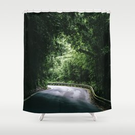 Driving the Hana Highway Shower Curtain