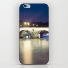 Bridges of Paris by Night iPhone & iPod Skin