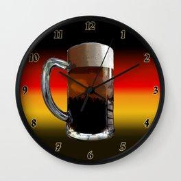 German Sunset Wall Clock